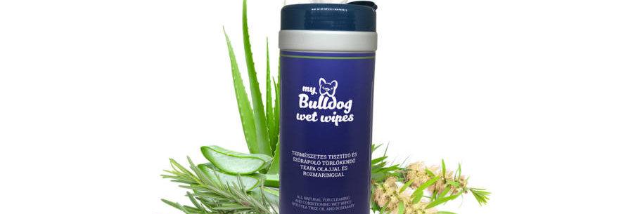 My Bulldog Wet Wipes – Természetes Nedves Törlőkendő