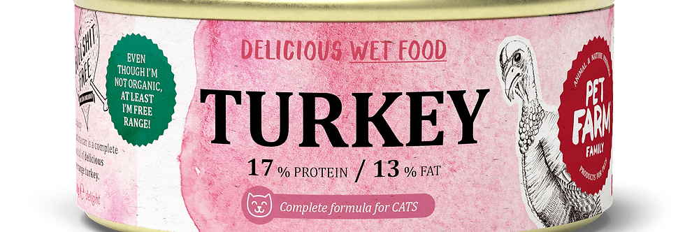 Pulykahús konzerv macskáknak