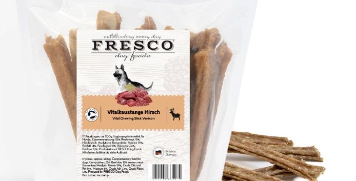 Fresco Hipoallergén fogtisztító rúd 17db – Szarvasos