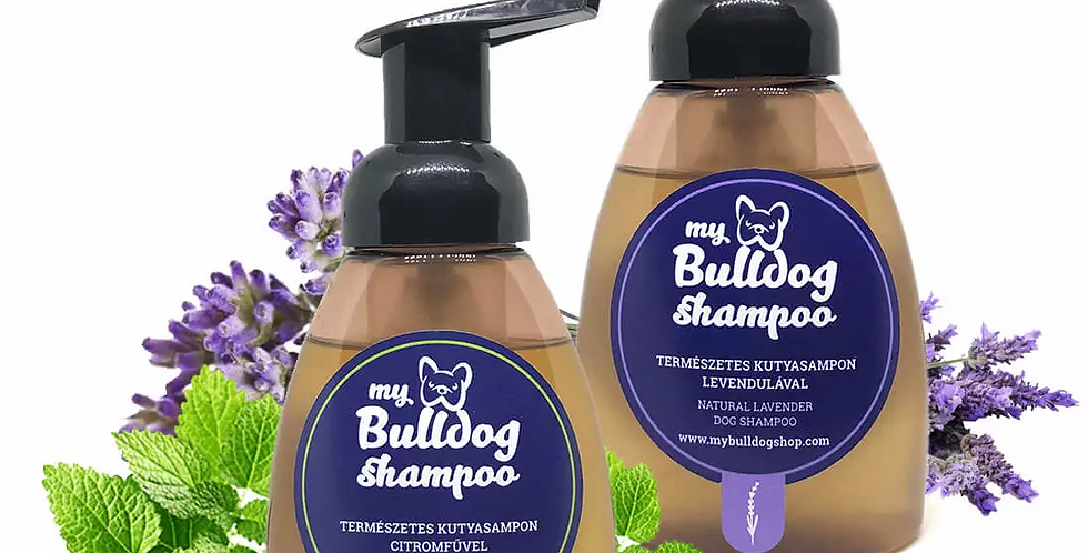 My Bulldog Shampoo – gyógynövényes kutyasamponok