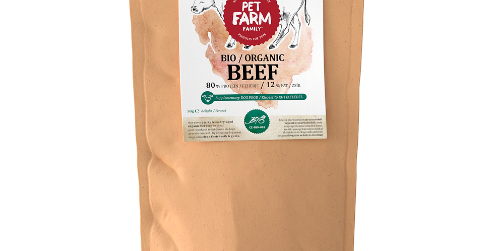 BIO szárított marhahús