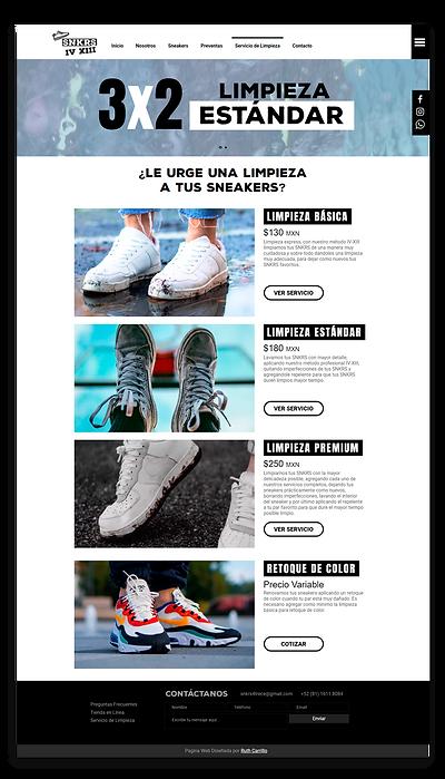 Diseño Web, tienda en línea para SNKRS IV XIII, empresa dedicada a la venta de zapatillas deportivas originales de colección con verificación LEGIT CHECK. Diseño Web en Monterrey, Tienda en línea en Monterrey, Ecommerce en Monterrey, Ecommerce en Mexico, Diseño de Paginas Webs en Mexico, Tienda en linea en mexico.
