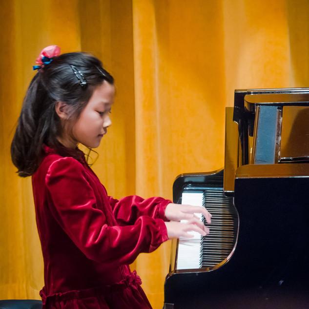 Tiana performing