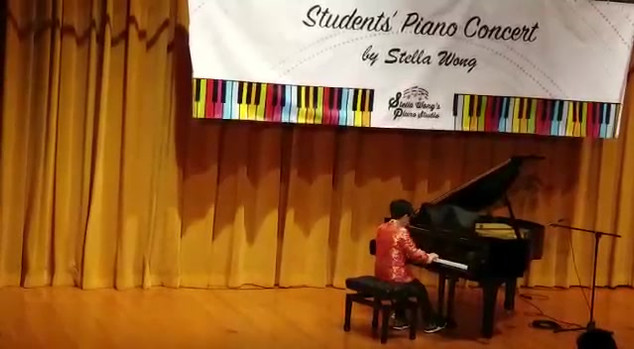 Pak Ho is peforming in Student Concert 2018