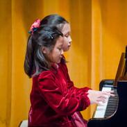 Tiana & Hilary performing duet