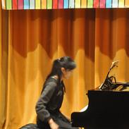 Helen performing