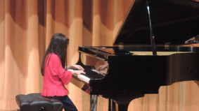 Alvina is playing in Student Concert 2018