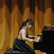 Hazel performing