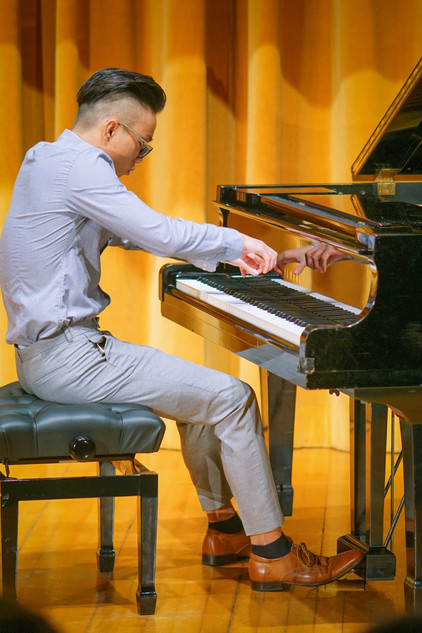 Jonathan is in Concert and he has just got distinction in his ATCL exam!