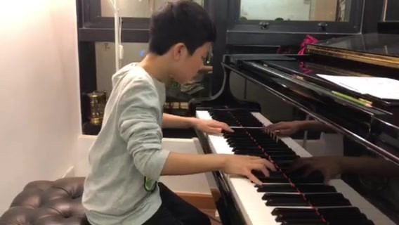 Ming Ming is working hard to prepare for the annual concert and competition!