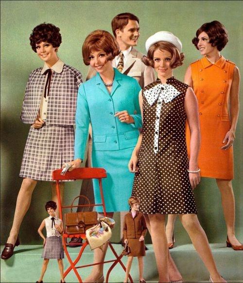 tendencias moda años 70