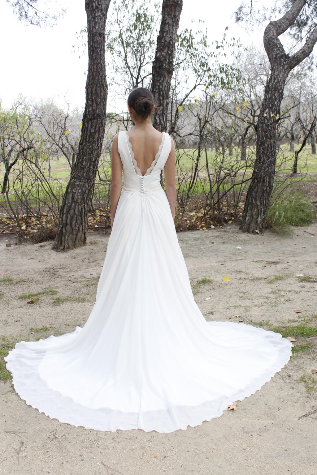 espalda vestido de novia Navar - masum karimi
