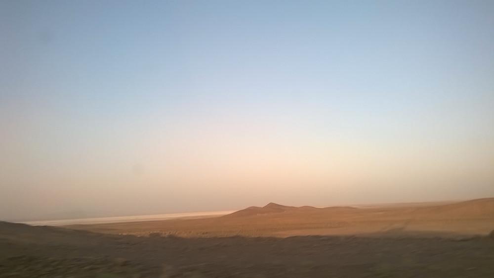 desiertos de iran