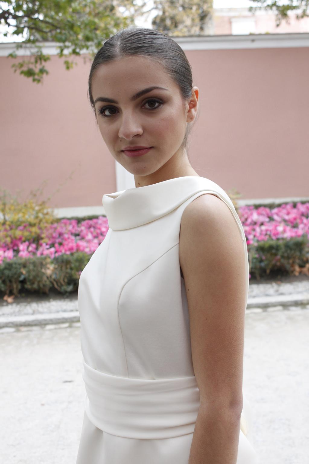 cuello vuelto vestido de novia papion masum karimi