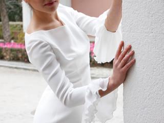 Por lo civil y perfecta - el vestido de novia ideal para una boda civil
