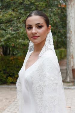 velo vestido de novia astin - masum karimi