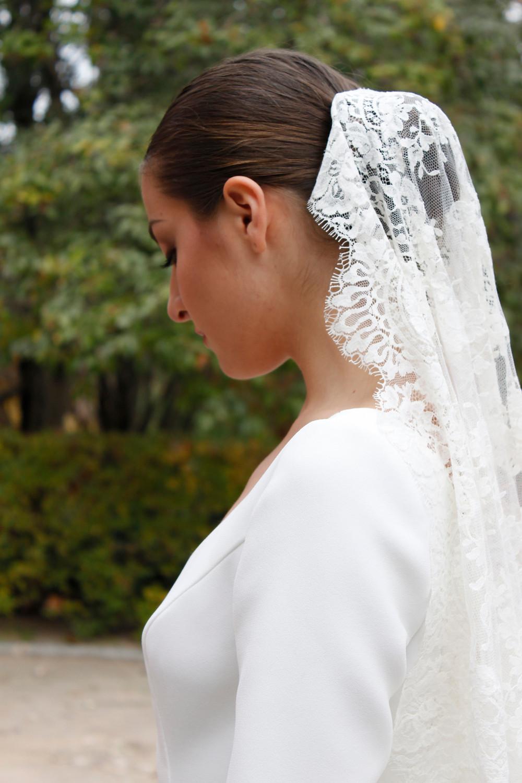 velo de novia vintage