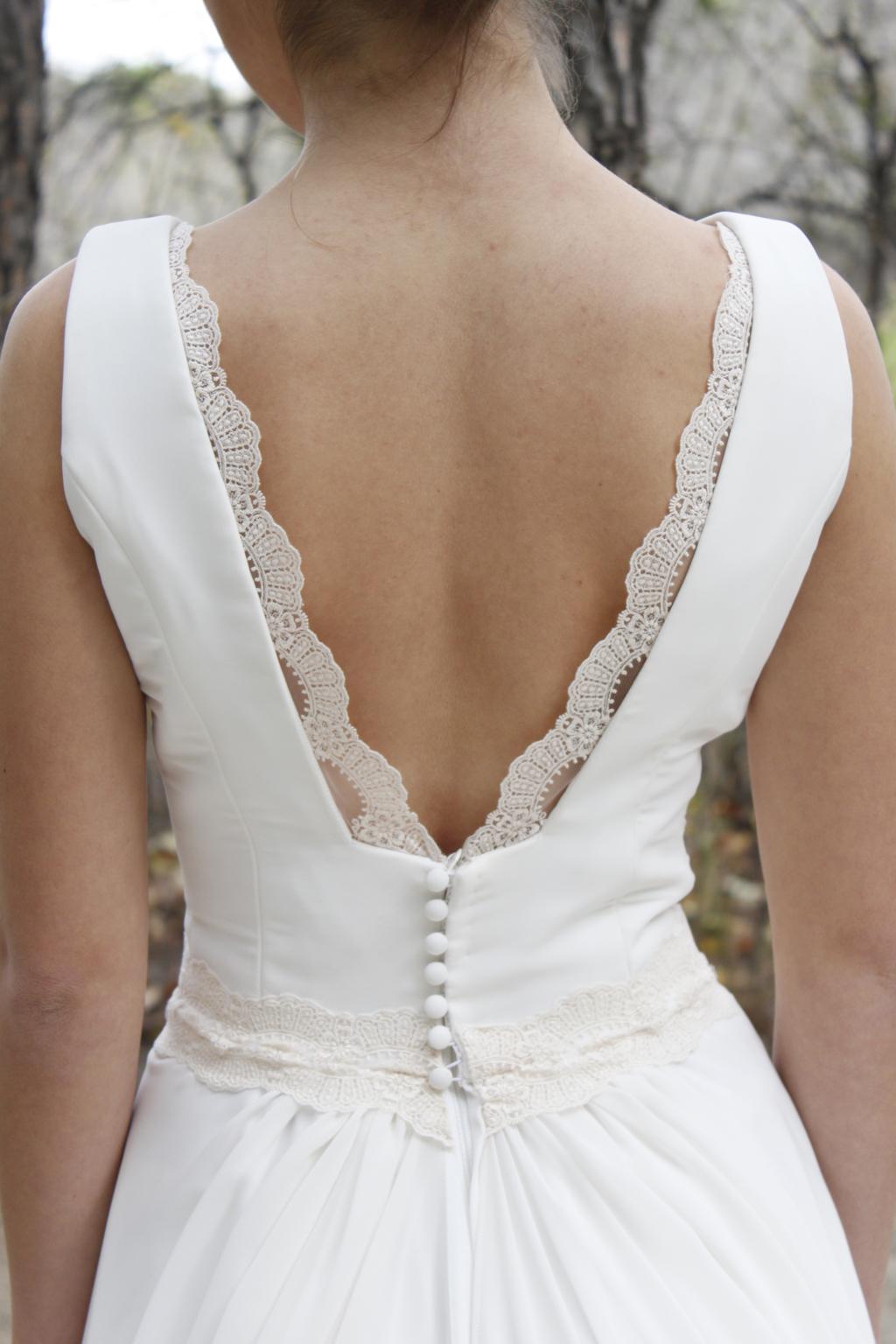 detalle espalda vestido novia navar -mk