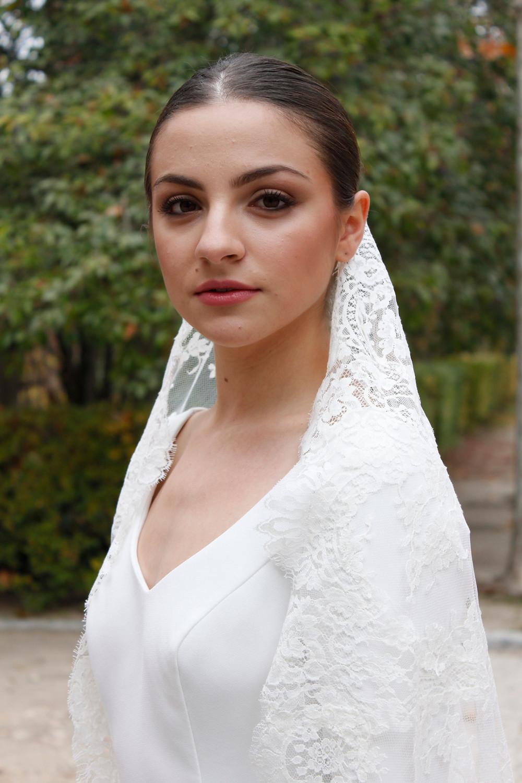 velo de novia de encaje