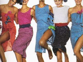 Trending back! la moda es una máquina de tiempo. Las tendencias actuales con aires de los 60's y