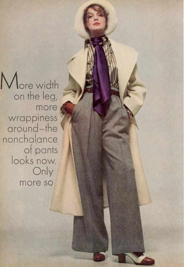 tendencias para mujeres de los años 70