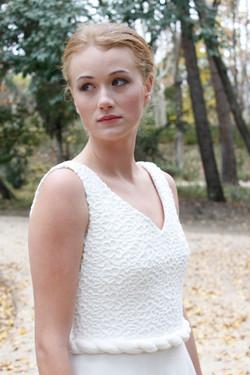 detalle cuerpo espalda vestido de novia sade - mk
