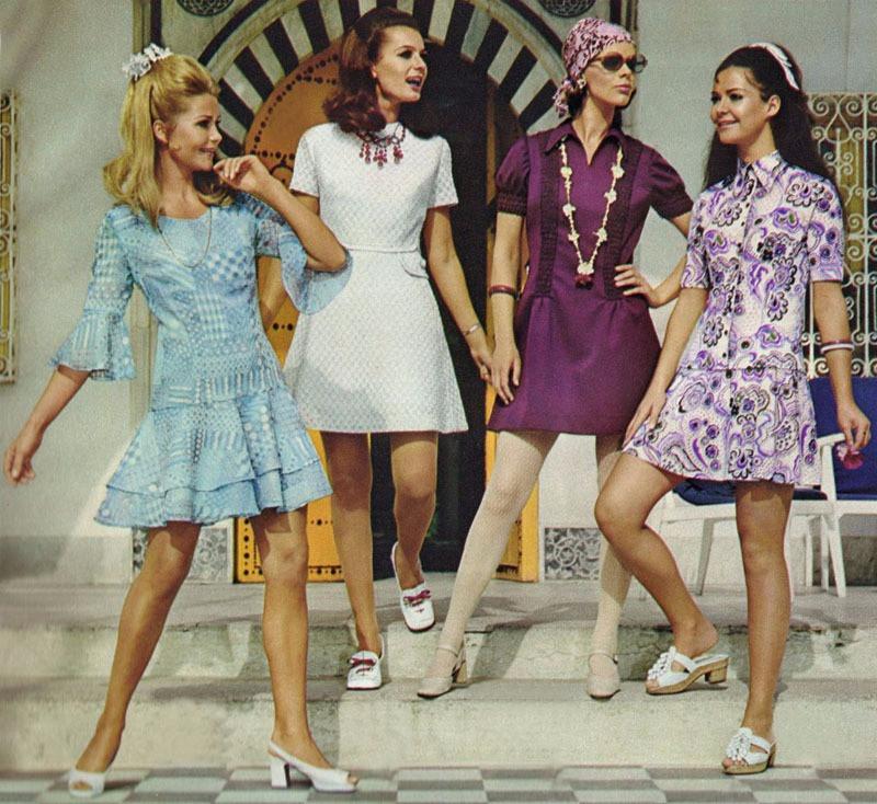 tendencias años 60