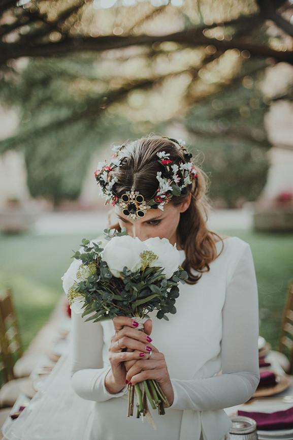 vestido de novia masum karimi