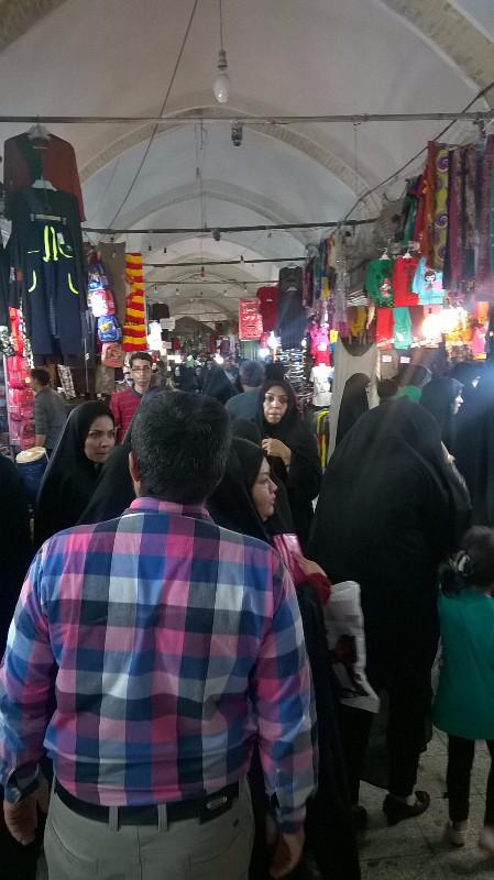 los bazares en iran