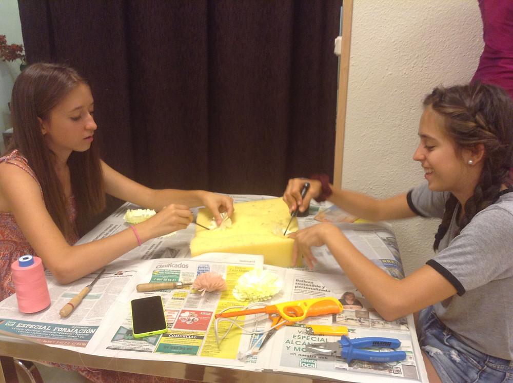 campamento urbano de costura madrid
