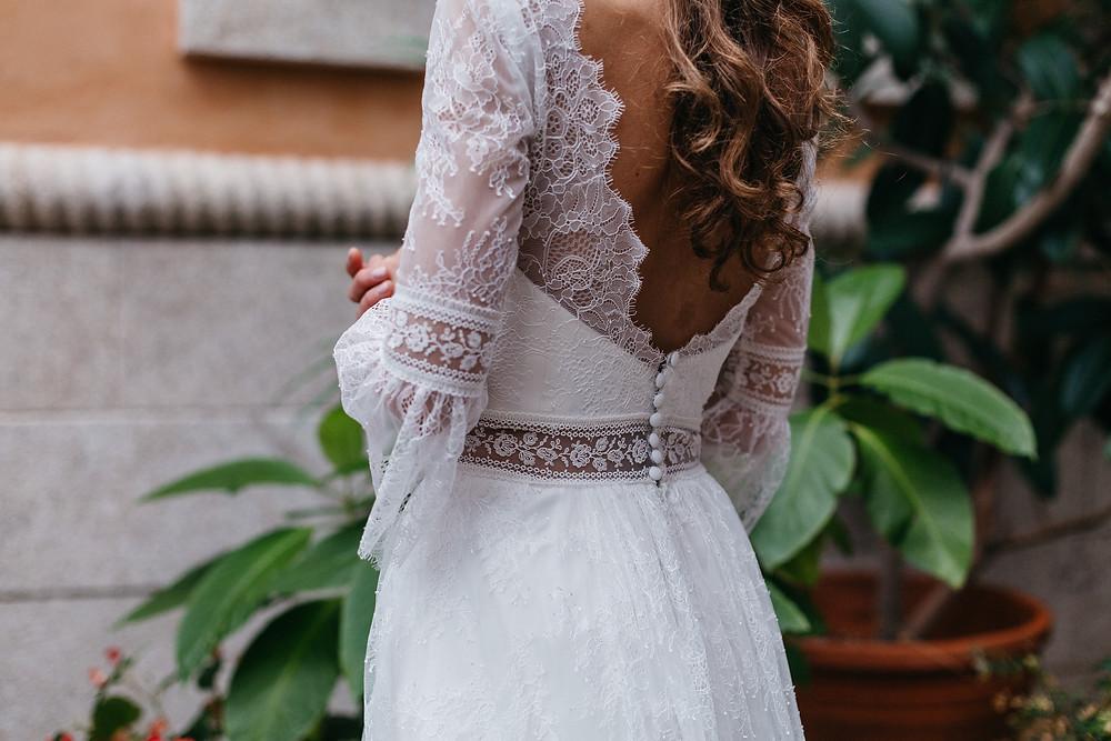 Ideas para espalda de novias