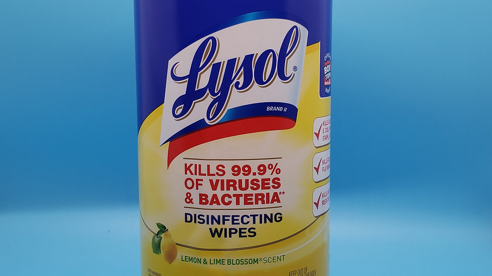 Lysol 80PK disinfecting wipes