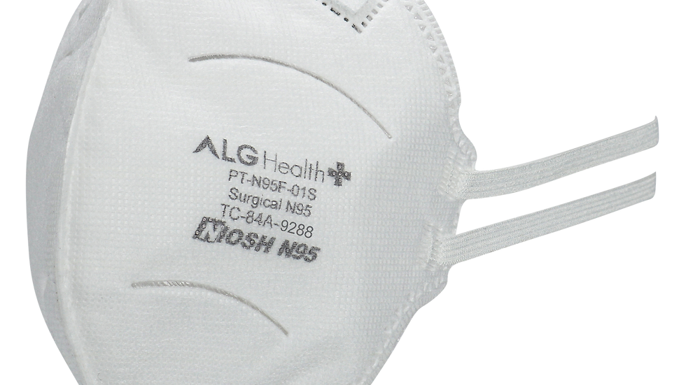 40 pack - USA made N95 foldable PATRIOT mask - NIOSH/FDA/Surgical Certified