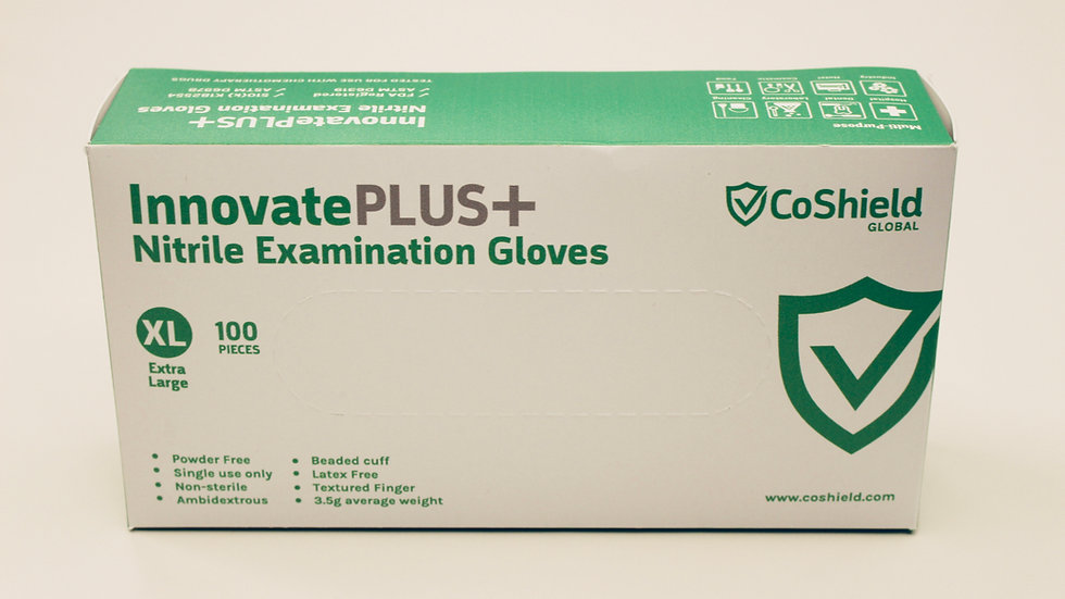 ON SALE - InnovatePlus - Nitrile Exam Gloves in the USA 4mil