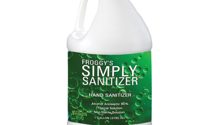 Hand Sanitizer made in and shipped from the US - select product to show price
