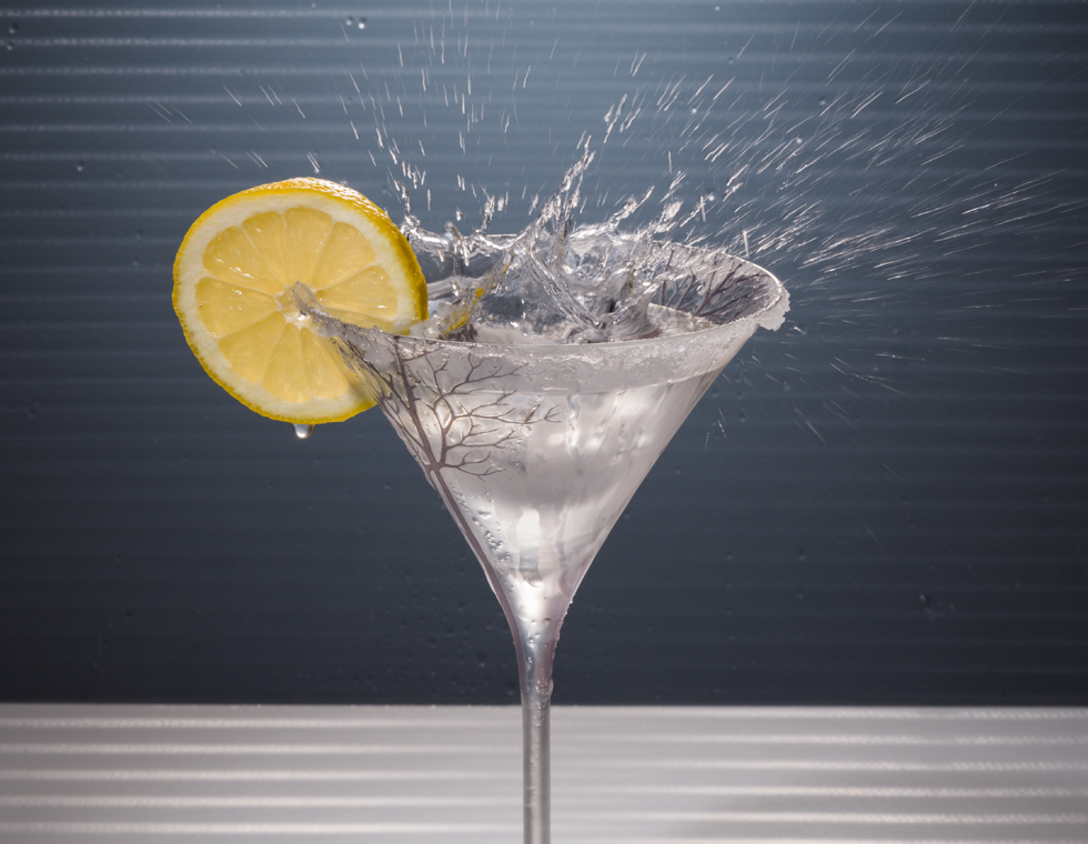 Splashing Martini