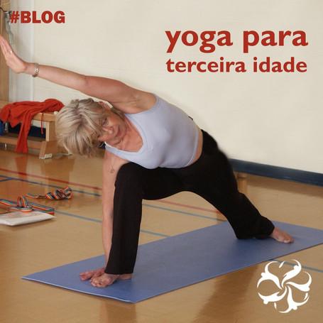 Yoga para terceira idade!