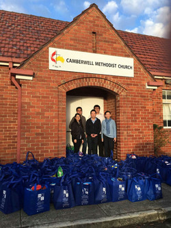 Food Drive Bags Collection
