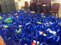Food Drive Bags Collected