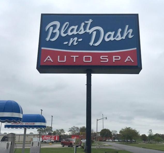 Blast N Dash Embossed Face