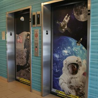 Space Center Houston - Elevator wraps.JP