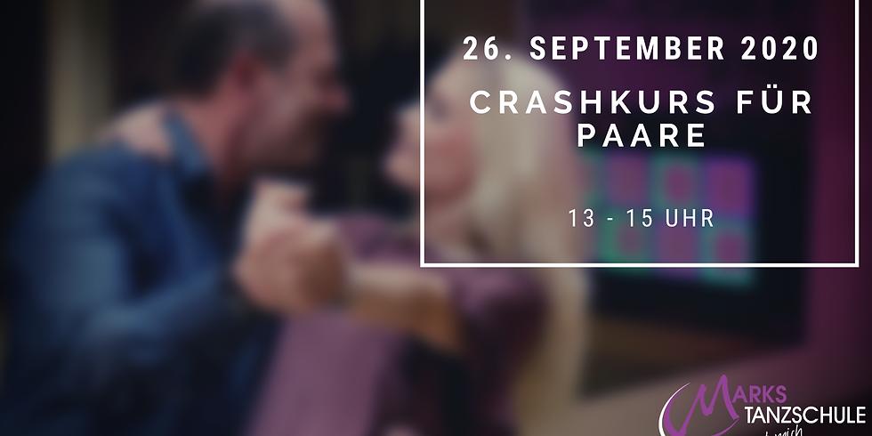 Crashkurs für Paare 26. September 2020