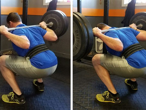 Identifying and Correcting Thoracic Spinal Flexion in the Squat
