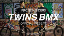 TWINS BMX ウェブサイトオープン!!!