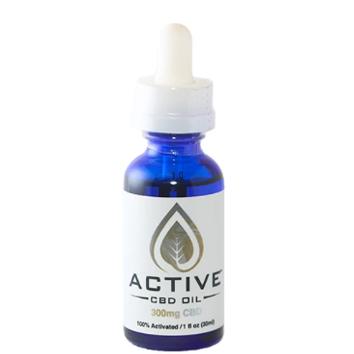 Active CBD oil CBD/MCT Tincture 300mg