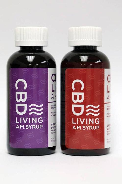 Living CBD Oil AM Syrup - 120mg