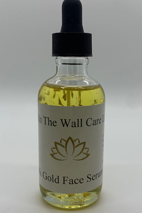 24K Gold Infused CBD Face Serum - Hole In The Wall Care
