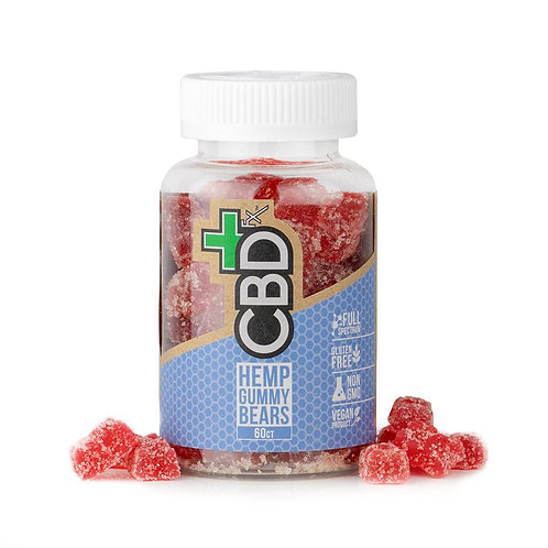 ORGANIC 60 Count, 300mg CBD Gummy Bears