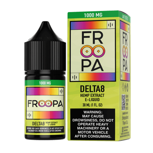 Froopa - Delta 8 Infused E-Liquid (1000MG)