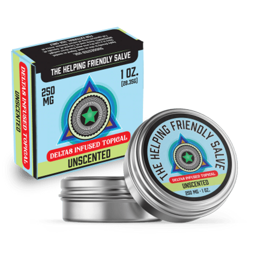 The Helping Friendly Salve – 250mg – Delta8 Infused Topical
